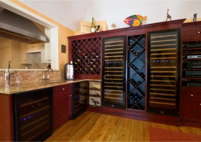 Custom Bar & Wine Storage